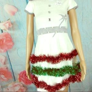 PLANET GOLD Christmas costume dress Size S